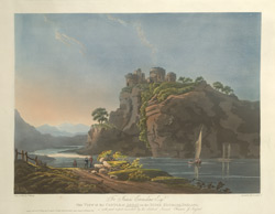 View of the Castle of Arday on the River Kenmare, Ireland 41.b